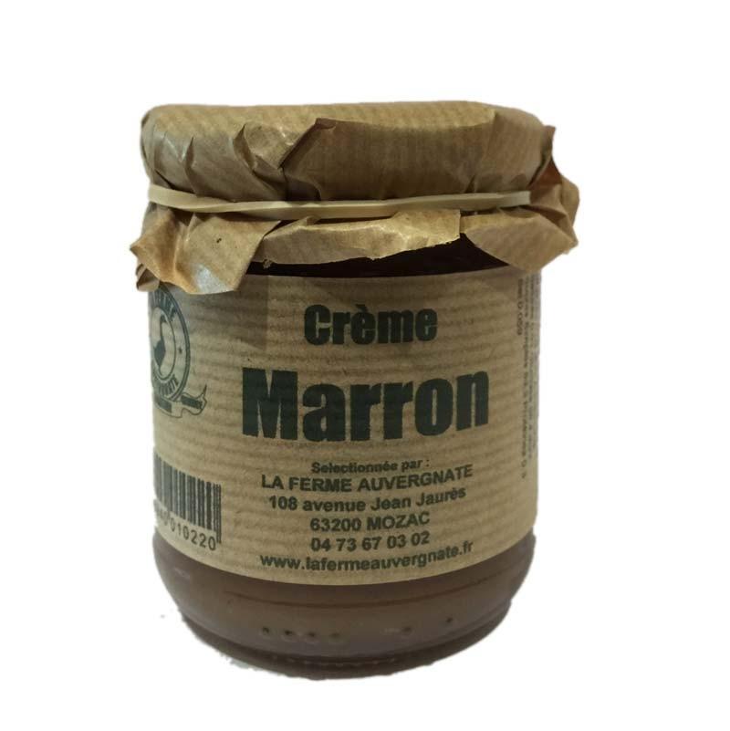 crème de marron artisanale